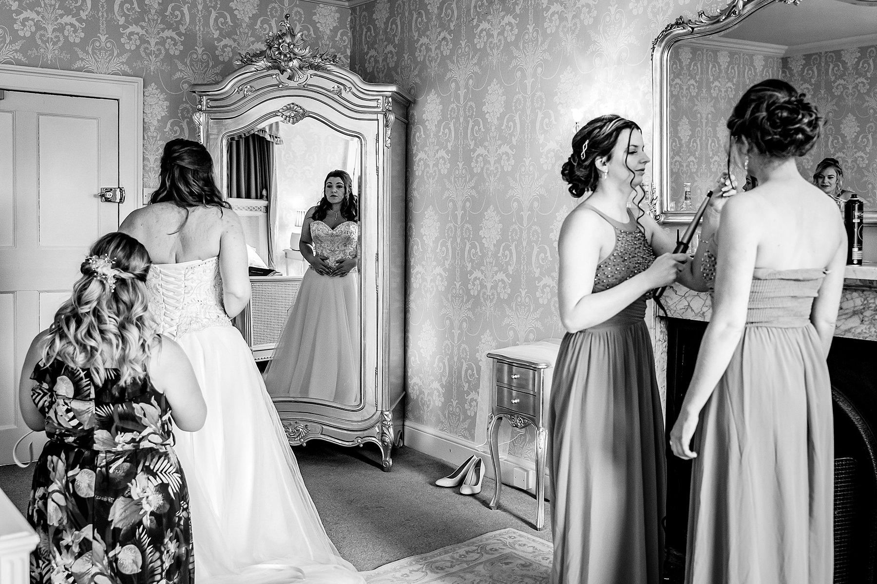 bridal prep at prestwold hall