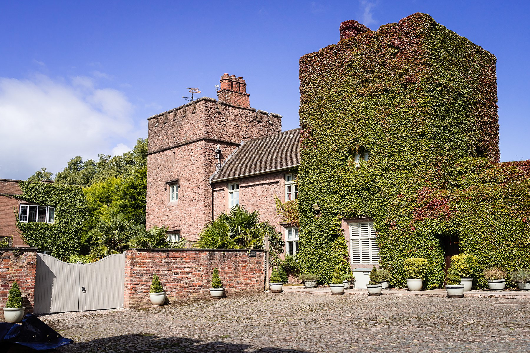 tower house at rowton castle