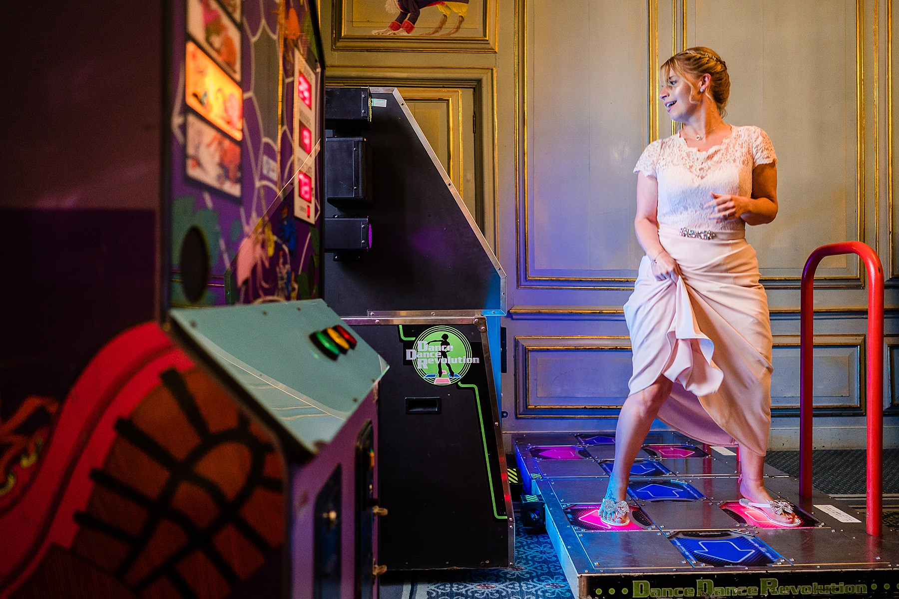 arcade at wedding