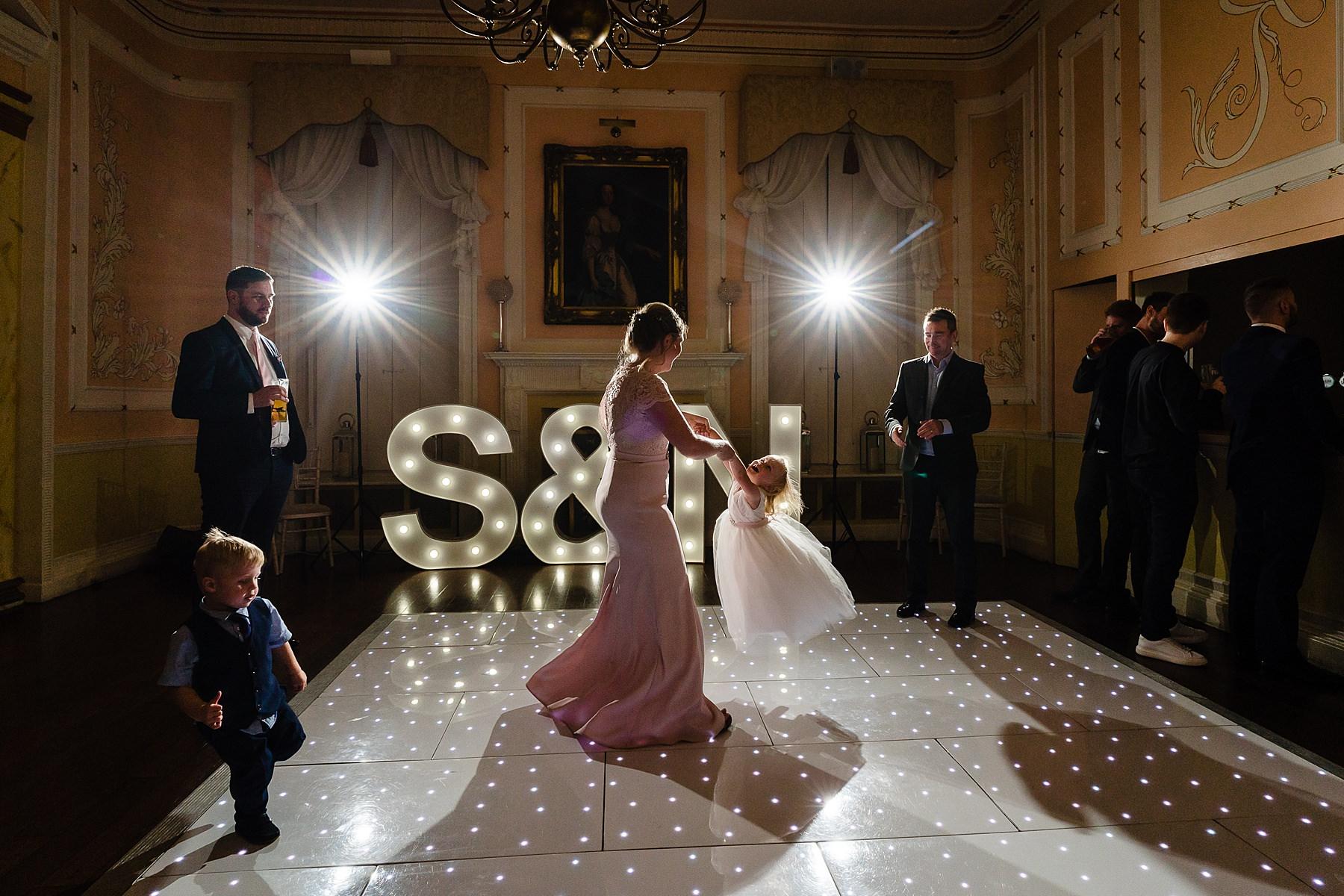 documentary wedding photos at rowton castle