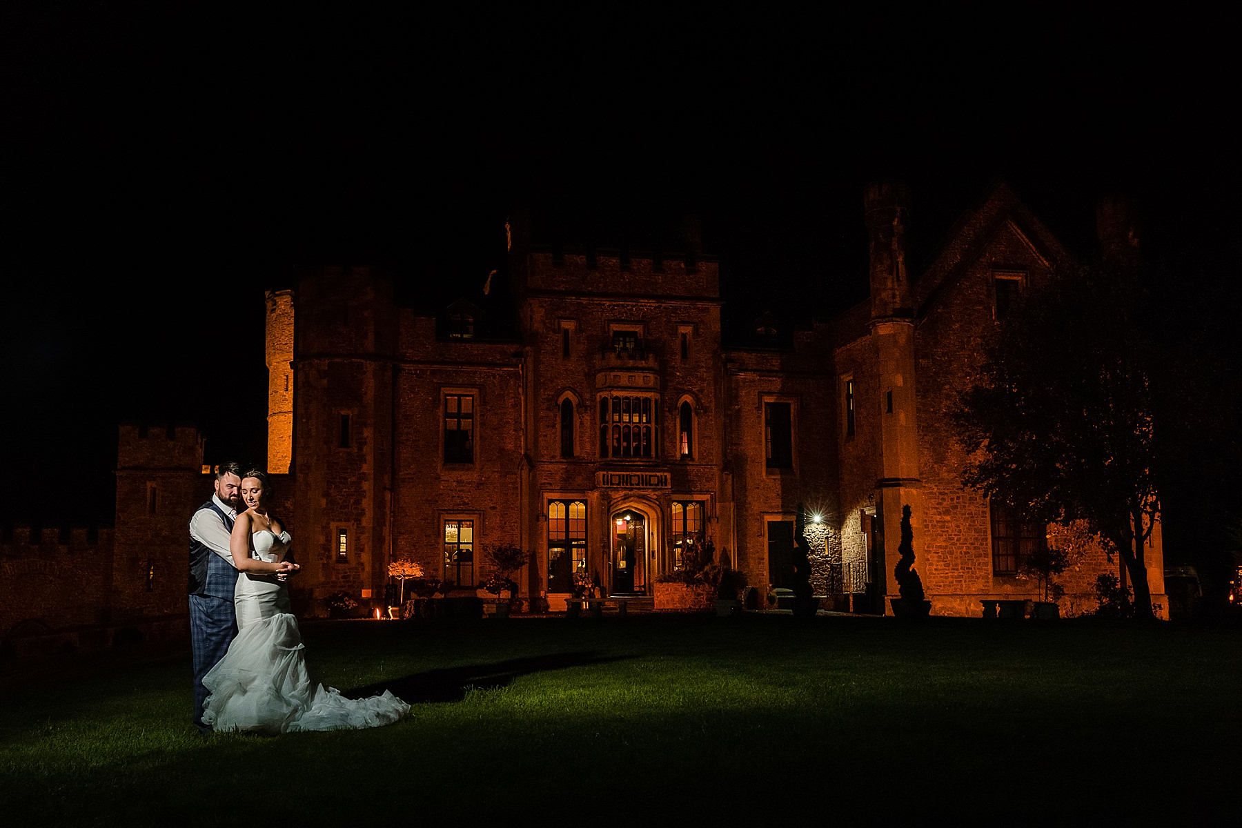 night photos at rowton castle