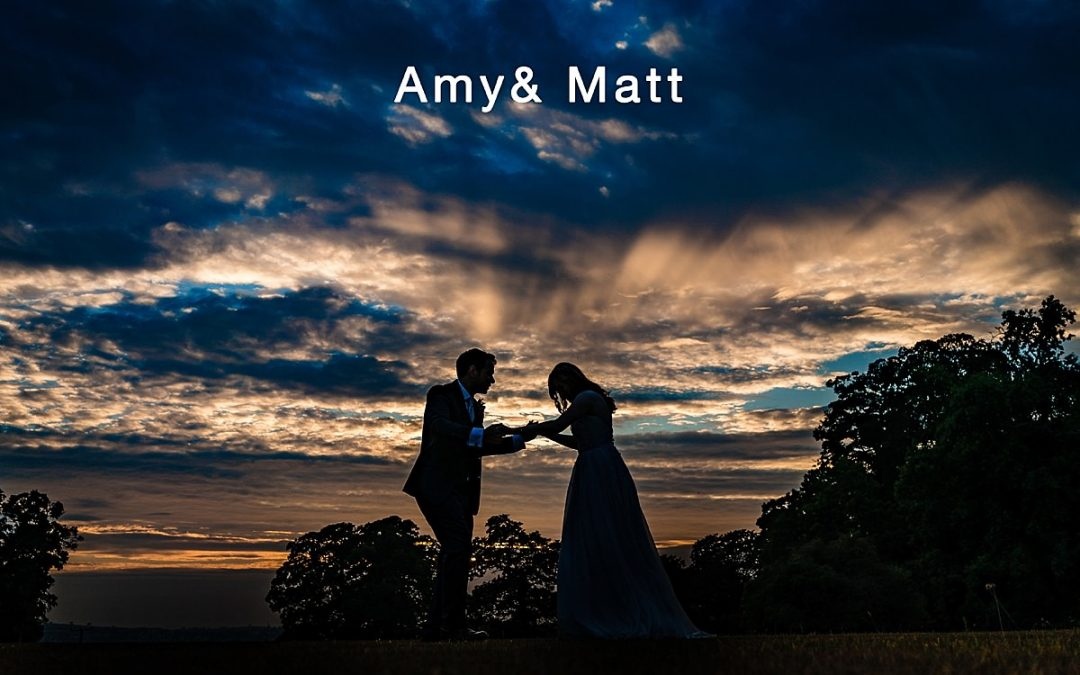Sandon Hall wedding photographer – Amy and Matt