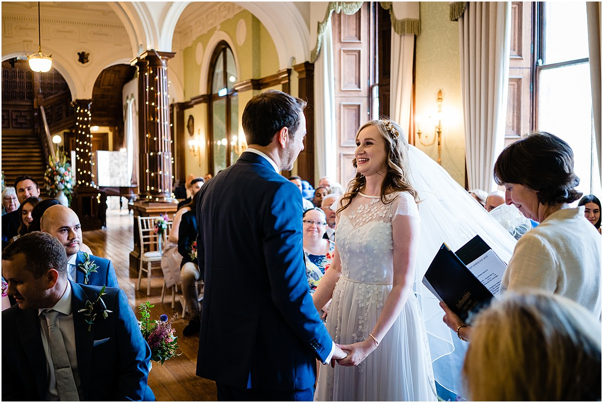 wedding at sandon hall