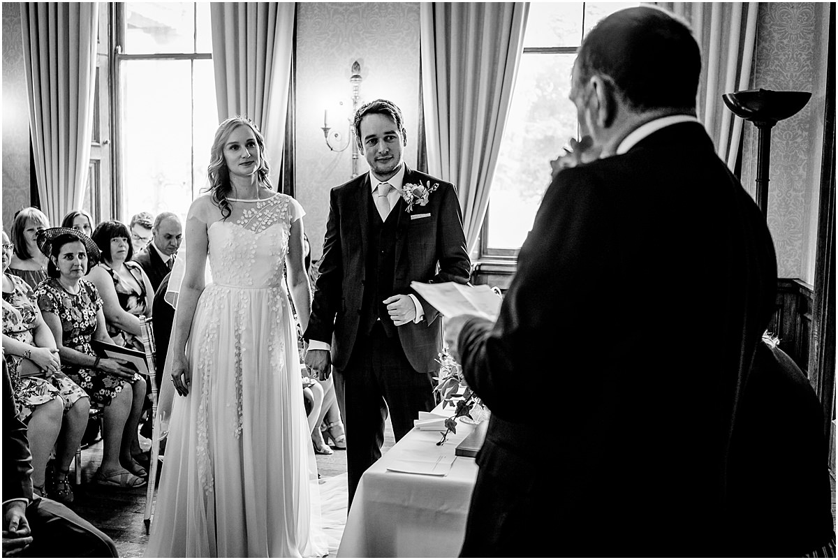 sandon hall wedding ceremony