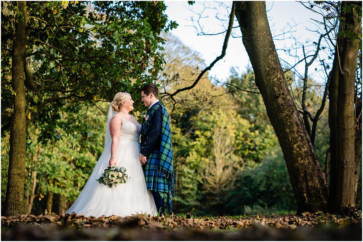 autumn wedding at somerford hall