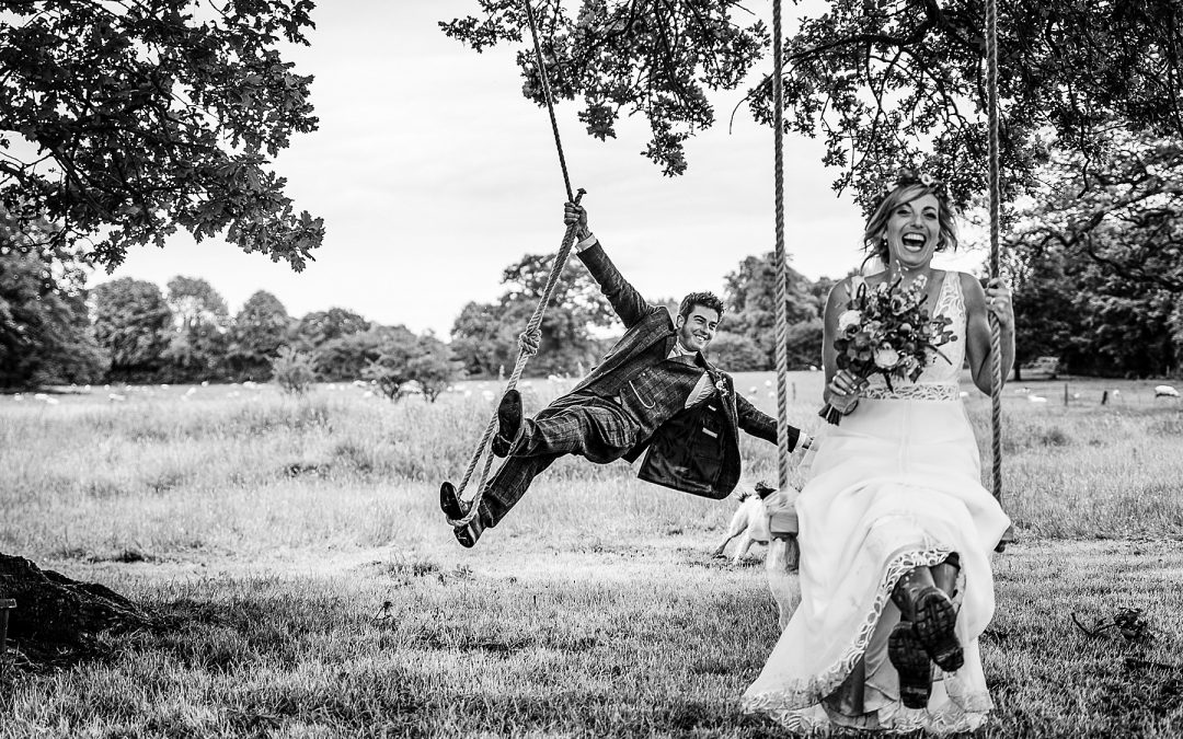 Vicki and Barry's Staffordshire Marquee wedding
