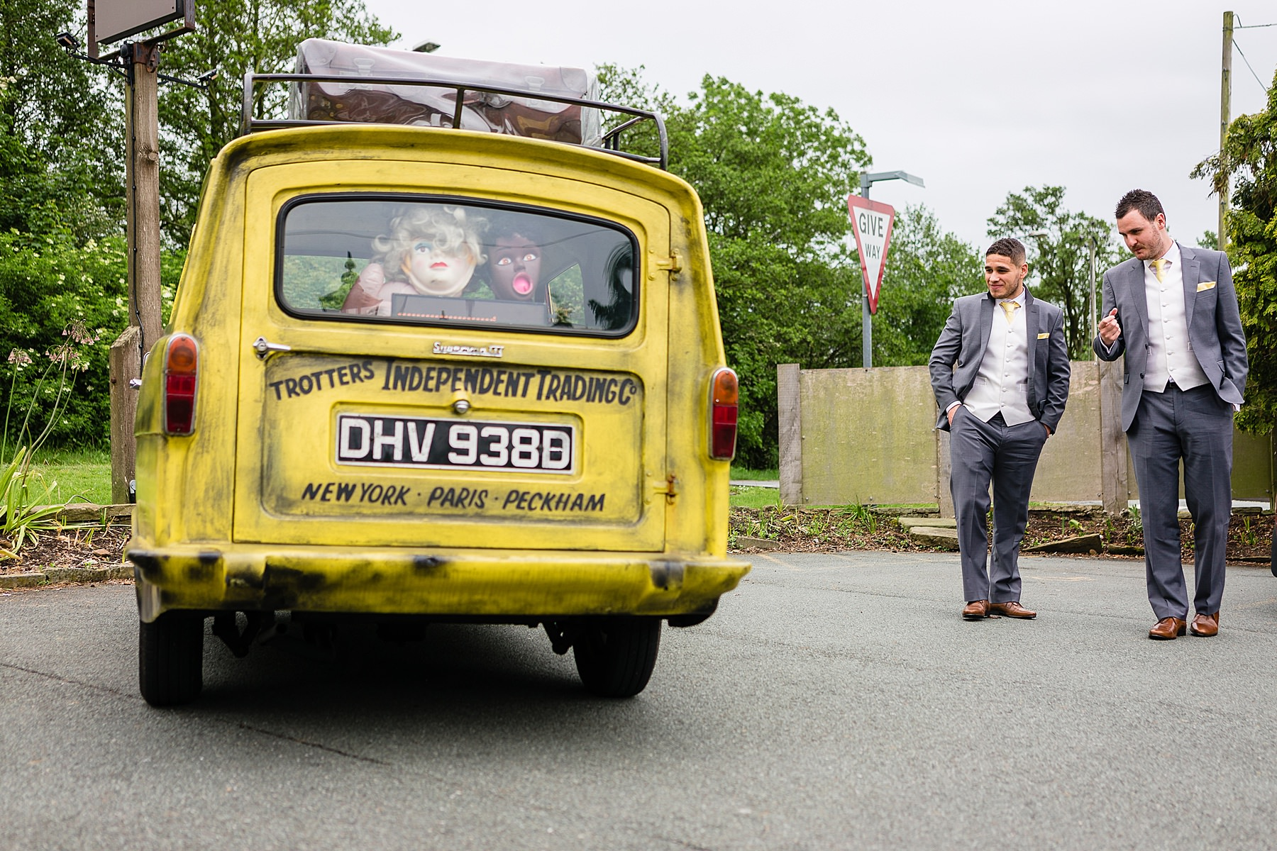grooms arrival only fools and horses