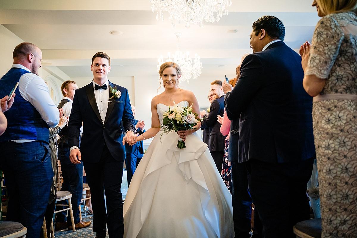 weston hall wedding ceremony