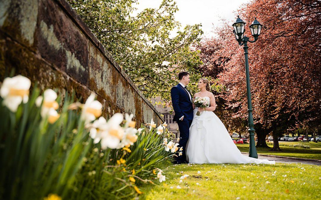 Weston Hall wedding – Anna and Dave
