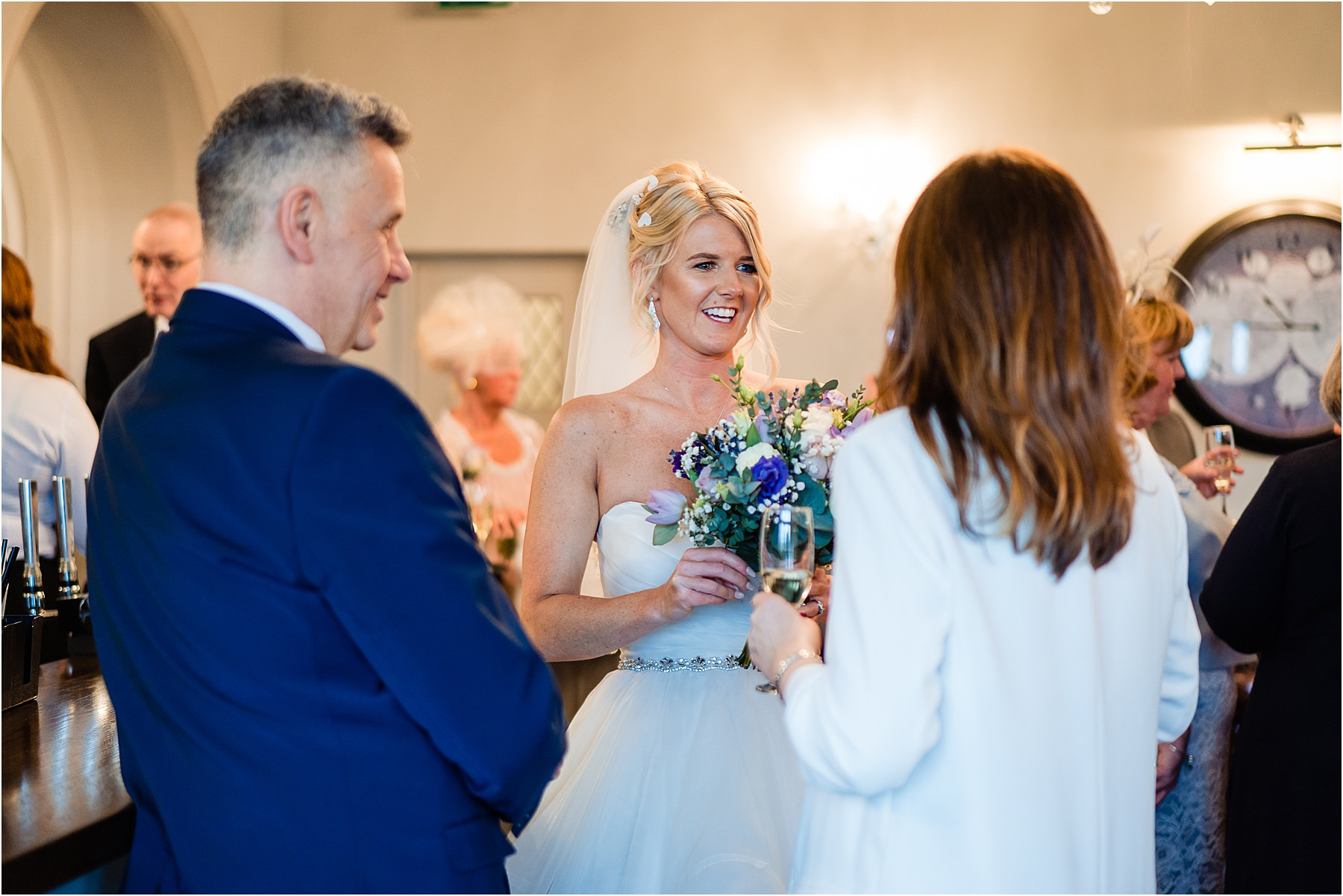 reportage wedding photography at weston hall